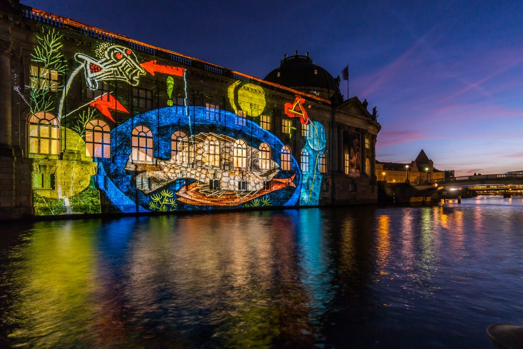 2017 Festival of Lights Bodemuseum 3